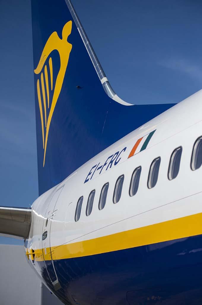 EI-FRC, uno de los Boeing 737-800 recibidos por Ryanair en la última semana.