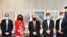 Los representantes de Enaire y EASA participantes en la reunión bilateral.