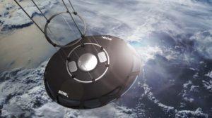 La cápsula de EOS-X es redonda para una perfecta visión hacia el extsrior por todos los ocupantes.