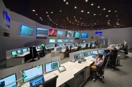 Sala de control del ESOC desarrollada por GMV.