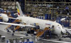 El segundo Boeing 787 que recibirá Ethiopian en la cadena de montaje de Boeing