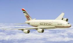 Etihad cuenta actualmente para el largo radio con aviones Airbus A330, A340 y Boeing 777. El primer A380 llegará a finales de 2014.