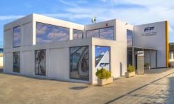 Instalaciones de European Flyers en Cuatro Vientos.