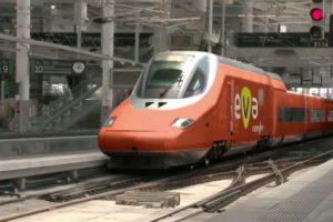 Aspecto que tendrán los trenes de EVA.