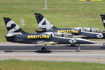 Aero L-39C del Breitling Jet team