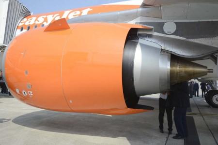 Con los motores LEAP-1A de sus A2320neo, Easyjet quiere reducir sus emisiones de CO2 a 72 gramos en 2022. Un 10 por ciento menos que hoy en día, y un 38 por ciento menos que en el año 2000.