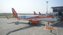 Entrega a Easyjet de su primer Airbus A320neo en Toyulouse.