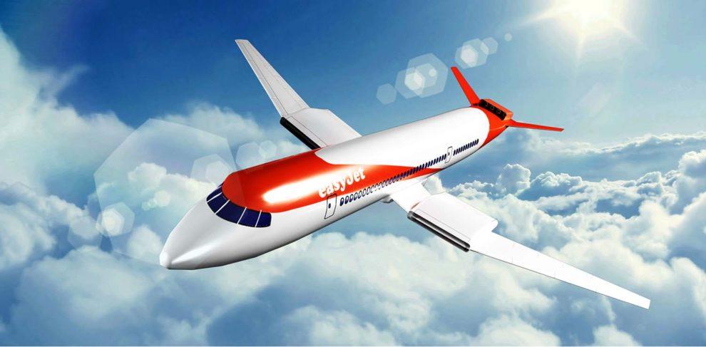 Último diseño presentado por Easyjet y Wright Electric de cómo podría ser su avión eléctrico de pasaje.