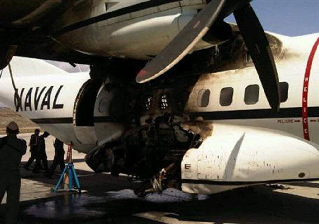 CN-235 AN-204 de la MArina de Ecuador