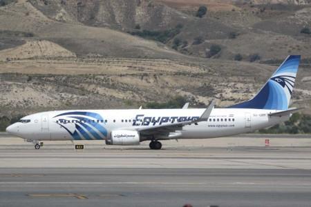 Boeing 737-800 de Egyptair.