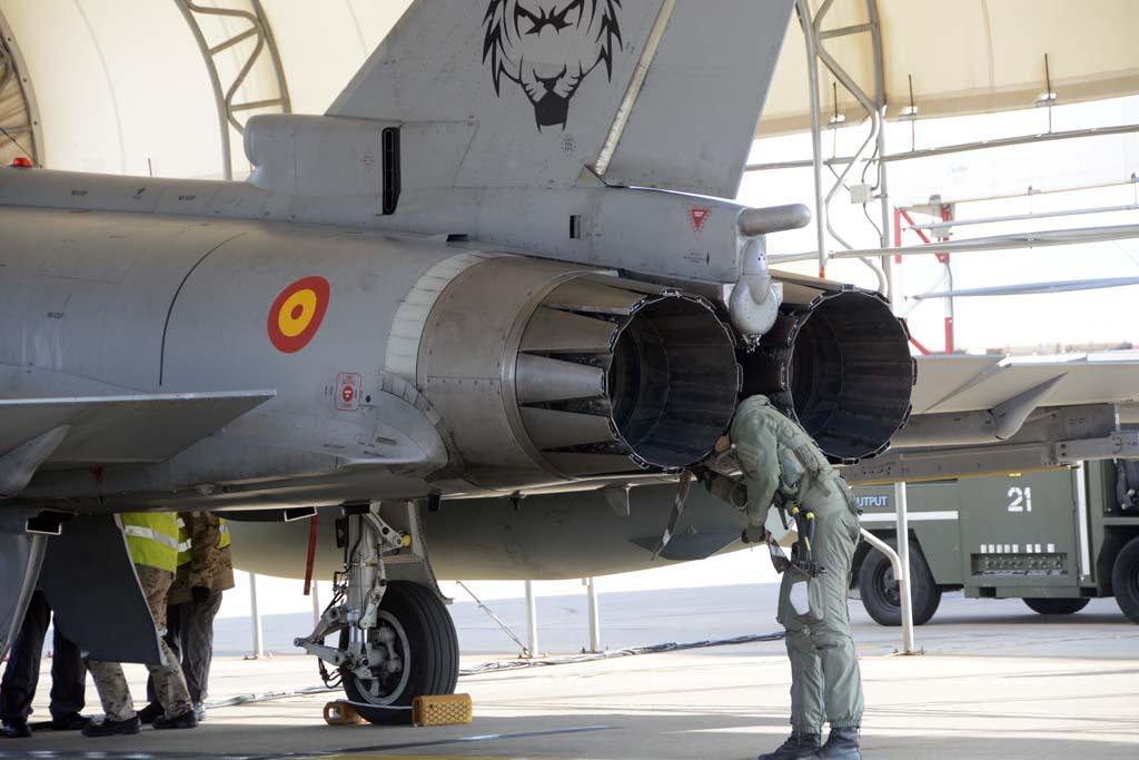 Los motores del Eurofighter están construidos por un consorcio de empresas de los países que lanzaron el programa. La española ITP Aero desarrolló unas toberas vectoriales pero finalmente se decidió no incorporarlas en el avión.