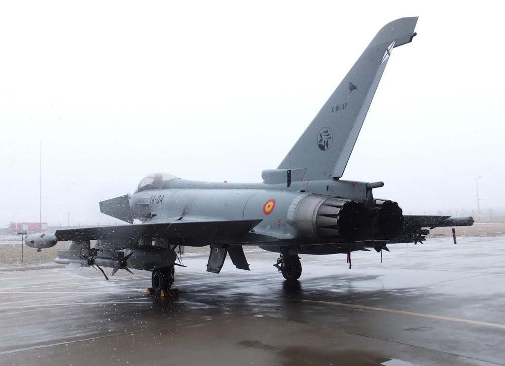 Las primeras misiones reales de los Eurofighter españoles han sido, dentro de la Operación de Policía del Báltico de la OTAN.