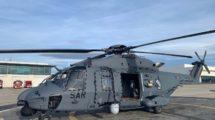 El primer NH90 del Ejército del Aire en una fotografía de este en las instalaciones de Airbus Helicopters en Marignane.