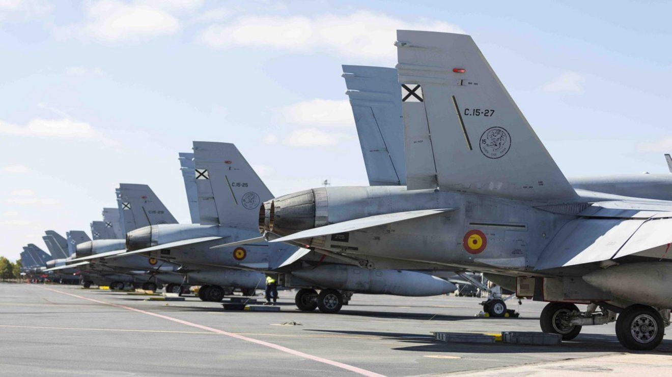 Los F/A-18 españoles se han modernizado en varias ocasiones. La más importante fue la MLU realizada por Airbus.
