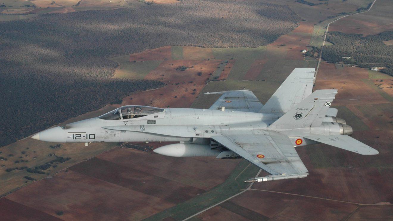 F/A-18A del Ala 12