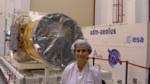 Elena Checa, ingeniera de control térmico de Aeolus