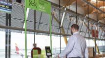 Embarque por reconocimiento facial en la T4 del aeropuerto de Madrid Barajas.