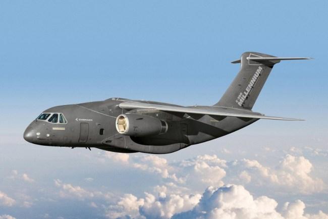 El KC-390 es ahora el C-390 Millenium.