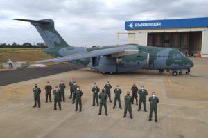 La Fuerza Aérea de Brasil ya cuenta con tres Embraer C-390.