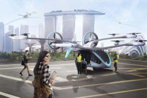 Embraer X presentó su propuesta de taxi aéreo autónomo a mediados de 2019.
