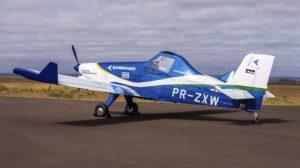 El demostrador eléctrico de Embraer a la espera de recibir a lo largo del año su motor y sistemas.