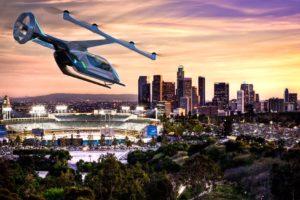 Embraer trabaja sobre varios diseños de drones de transporte de personas para mobilidad urbana.
