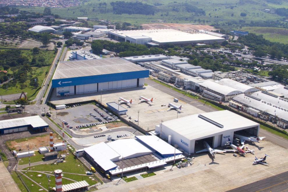 Instalaciones de Embraer en Sao José dos Campos.