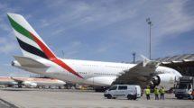 Emirates vuela a Madrid con el Airbus A380 desde el 1 de agosto de 2015.