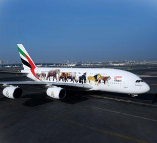 Emirates operará el vuelo más corto del mundo con un A380, Dubái-Doha