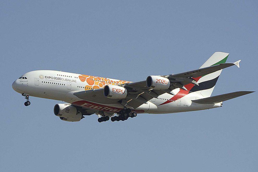 Emirates tiene en servicio 109 Airbus A380 de 162 adquiridos.