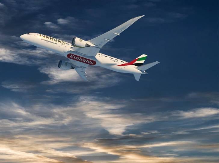 Los Boeing 787 cubrirán rutas en la red de Emirates en las que los Boeing 777 y Airbus A380 y A350 sean demasaido grandes.