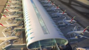 Emirates cosntruyó en el aeropuerto de Dubai una terminal para sus A380.