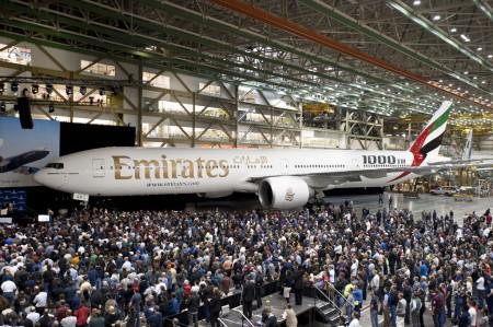 Boeing 777 número 1000