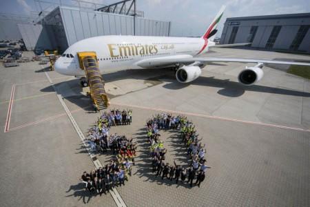 Airbus A380 número 50 de Emirates