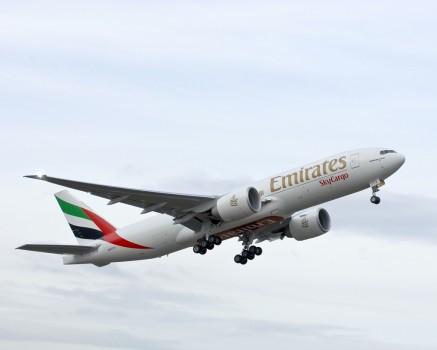 Vuelo récord de Emirates SkyCargo