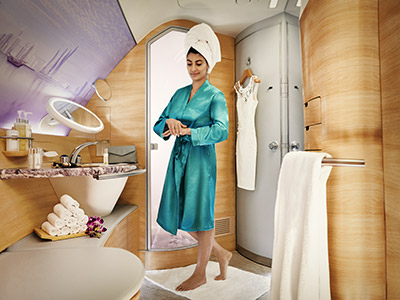 Onboard SPA Emirates