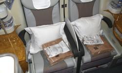76 asientos componen la clase business en los Airbus A380 de Emirates