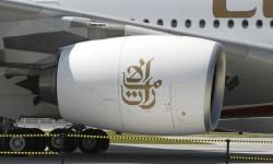 Emirates ha equipado sus Airbus A380 con motores GP7270.