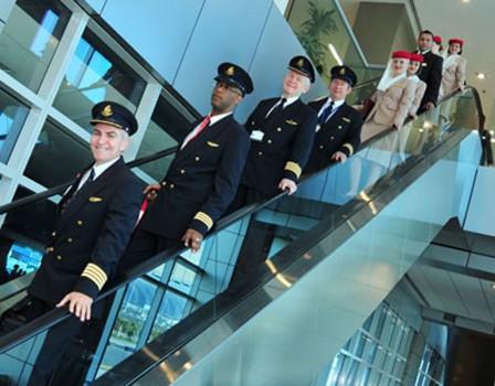 Más de 80 pilotos y 368 TCP,s españoles trabajan actualmente para Emirates