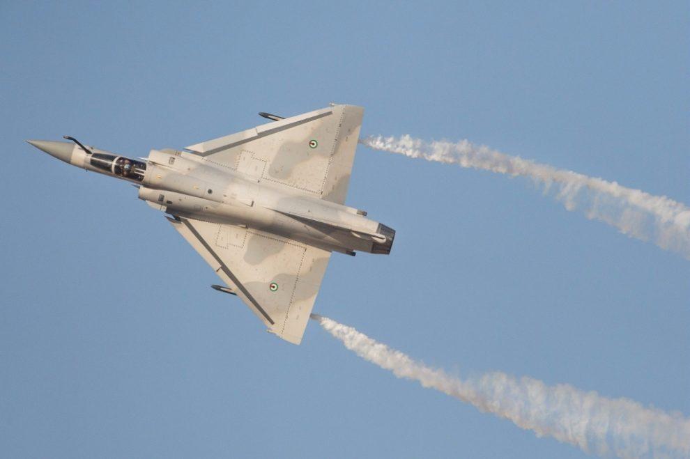 Dassault Mirage 2000-9 de la Fuerza aérea de Emiratos Árabes Unidos.