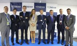 ITAérea Business School organizó una jornada sobre el sector aeronáutico en Madrid con las principales empresas del sector.