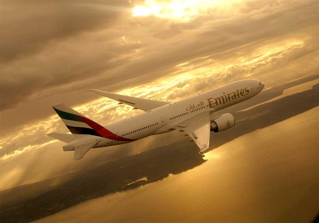 Emirates vuela dos veces al día entre Barcelona y Dubái