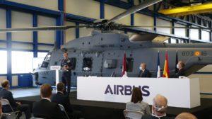 Entre los hechos destacados de Airbus Helicopters en 2020 estuvo el inicio de las entregas de los NH90 del Ejército del Aire español.