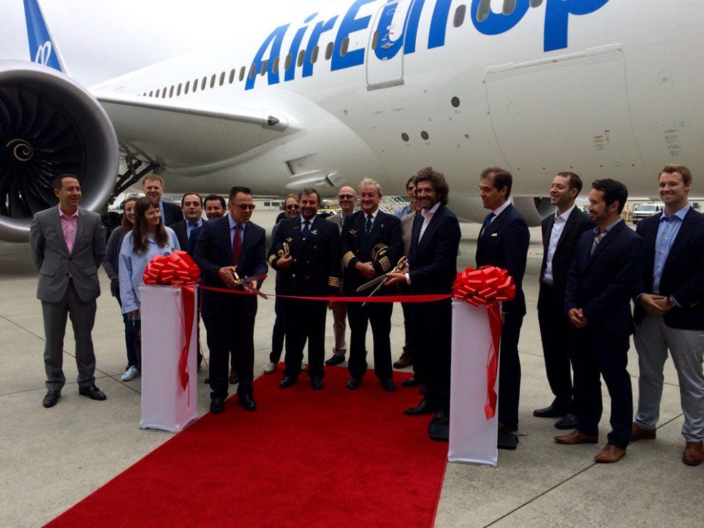 Air Europa recibe en Seattle su octavo y último B-787-8
