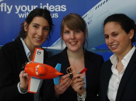 Uno de los cinco equipos finalistas, el de la Universidad de Londres, estaba compuesto sólo por mujeres, entre ellos la española Judit Guimerá