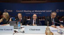Reunión ministerial de la ESA de 2016.