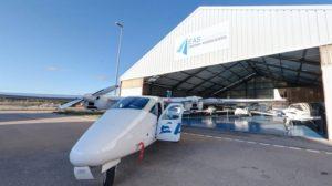 Aviones de la escuela EAS Barcelona.