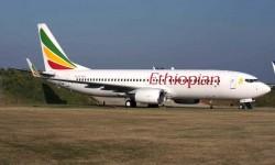 Ethiopian opera a Madrid con sus Boeing 737.