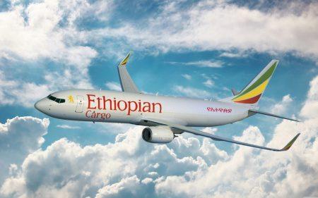 Ethiopian Cargo incrementará su flota de nueve aviones de carga con dos B-737-800.