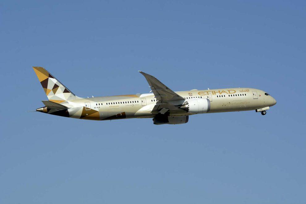Etihad cuenta con 38 Boeing 787, 30 de ellos de la vrsión 8.